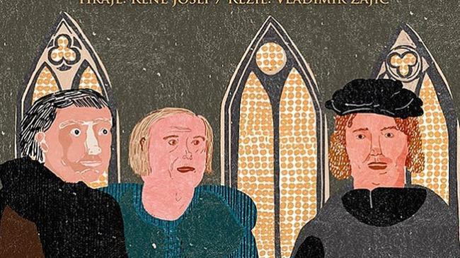 Plakátek Jan zvaný Hus